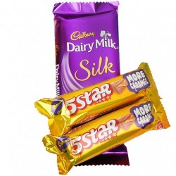 Cadbury Silk n Five Star