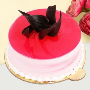 1/2 Kg Strawberry Cake