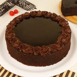 1/2 Kg Chocolate Cake Eggless