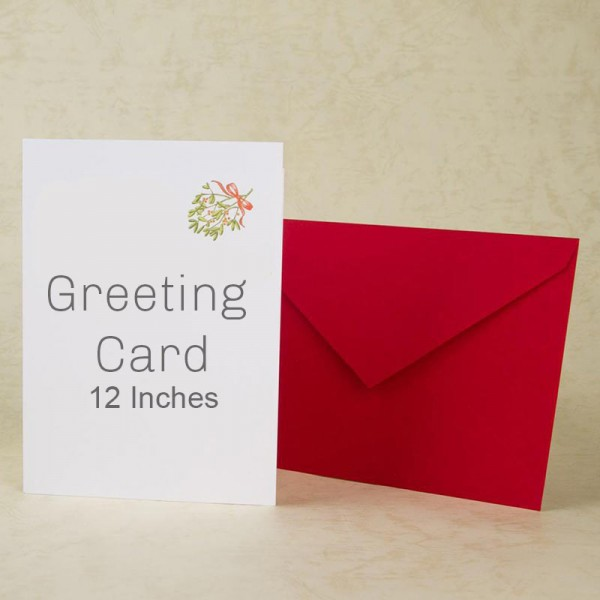 Greeting Card 12 Inches