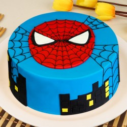 Delicious Spiderman Cake