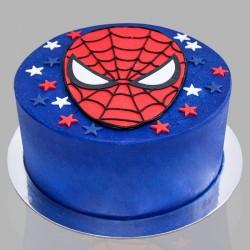 Exclusive Spiderman Theme Cake
