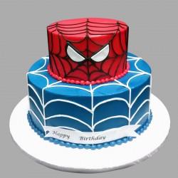 Glorious Spiderman Cake