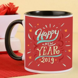Blazing New Year Mug