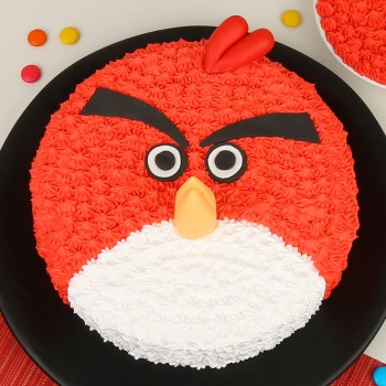 2 Kg Angry Bird Chocolate Cream Cake
