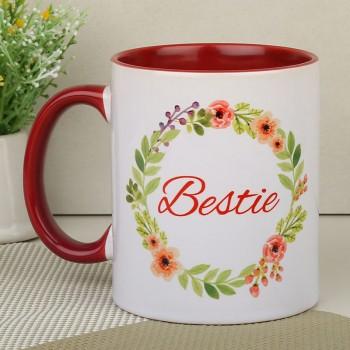 Bestie Floral Mug