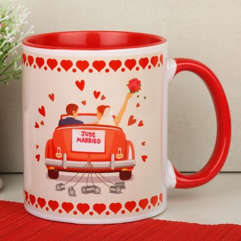 Just Married Game Over Mug