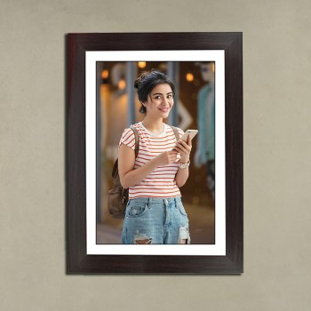 Black Portrait Frame For Her