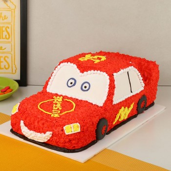 Super Car Cream Cake