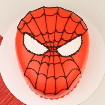 2 Kg Spiderman Theme Chocolate Cream Cake