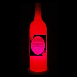 Pink Rakhi Lamp for Sister