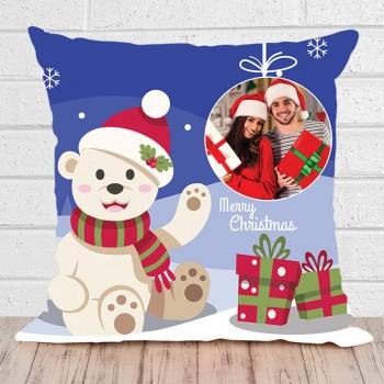 Christmas Greetings Cushion
