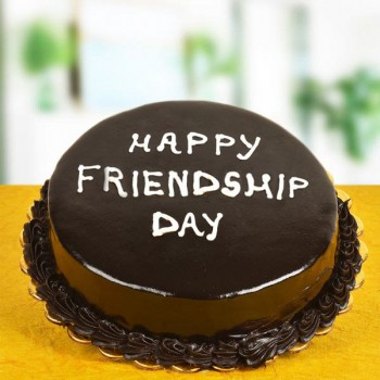 Chocolate Cake For Friendship Day