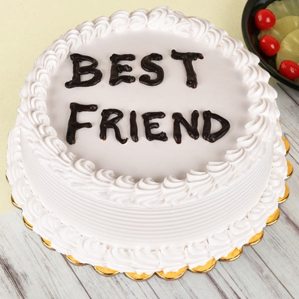 Classic Pineapple Cake For Best Friend