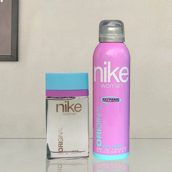 Nike Perfume and Deo Set for women