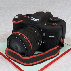 2 Kg Canon Camera Theme Designer Chocolate Fondant Cake
