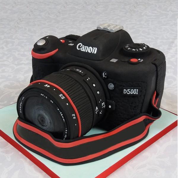 2 Kg Canon Camera Theme Designer Chocolate Fondant Cake