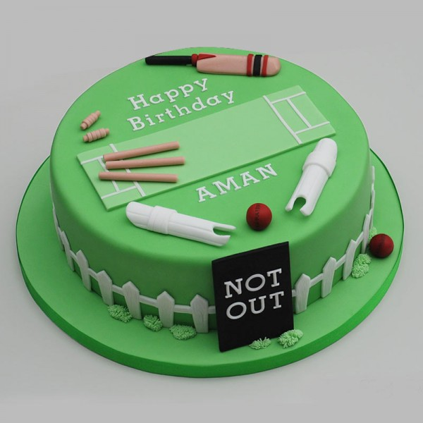 Cricket Theme Cake MyFlowerTree