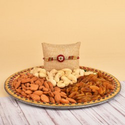 Traditional Dry Fruits Thali