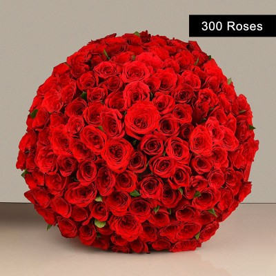 Enchanting Red Roses Bouquet