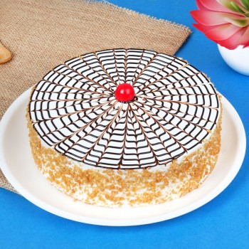 Crunchy Butterscotch | Cake Home Delivery In Kanpur