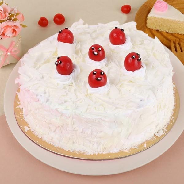 Half Kg Vanilla Cake
