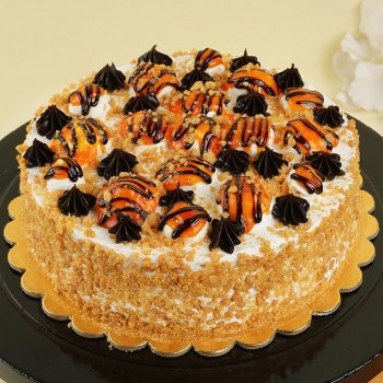 Butterscotch Fantasy Cake