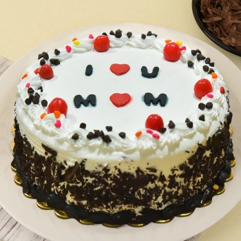 Half Kg Black Forest Cake for Mom