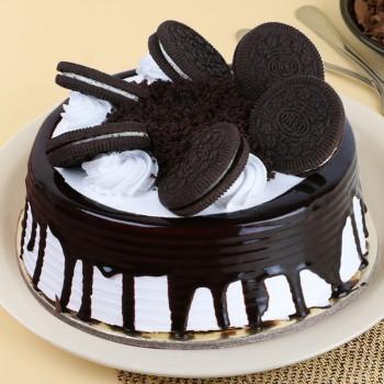 Half Kg Oreo Vanilla Cream Cake