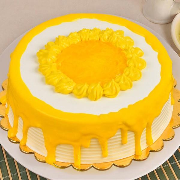 Half Kg Mango Cream Cake