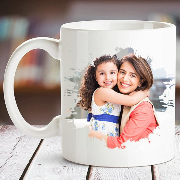 Personalised Mothers Day Photo Mug