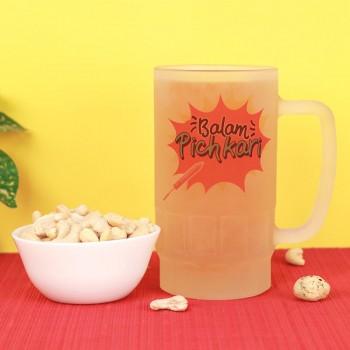 One Beer Mug and 250 gm Cashew Nut for Holi