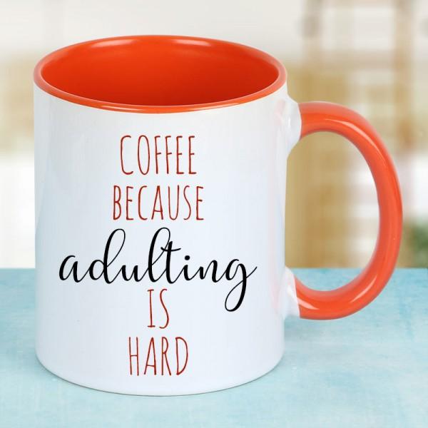 Printed Quote Coffee Mug