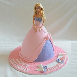 Barbie Birthday Celebration Cake