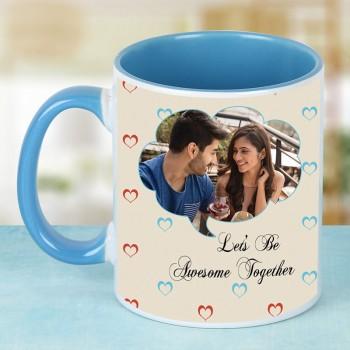 Personalised Blue Ceramic Mug