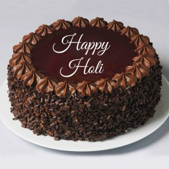 Half Kg Chocochip Chocolate Cake for Holi