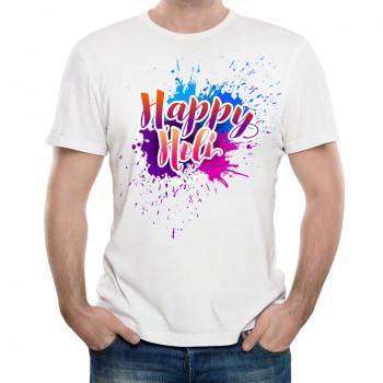 Happy Holi Printed T Shirt