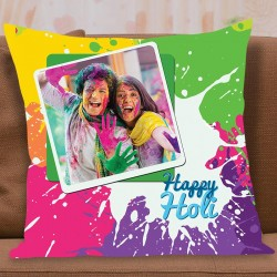 Vivid Holi Cushion
