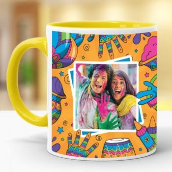 One Personalised Coffee Mug for Holi