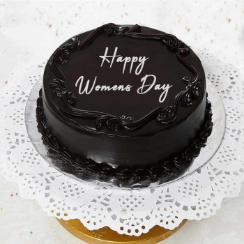 Half Kg Chocolate Truffle Cake for Womens Day