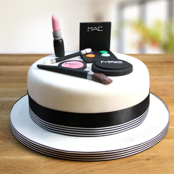 Mac Makeup Theme Cake