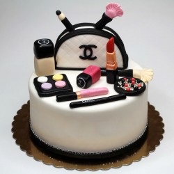 Special Chanel Cosmetics Cake