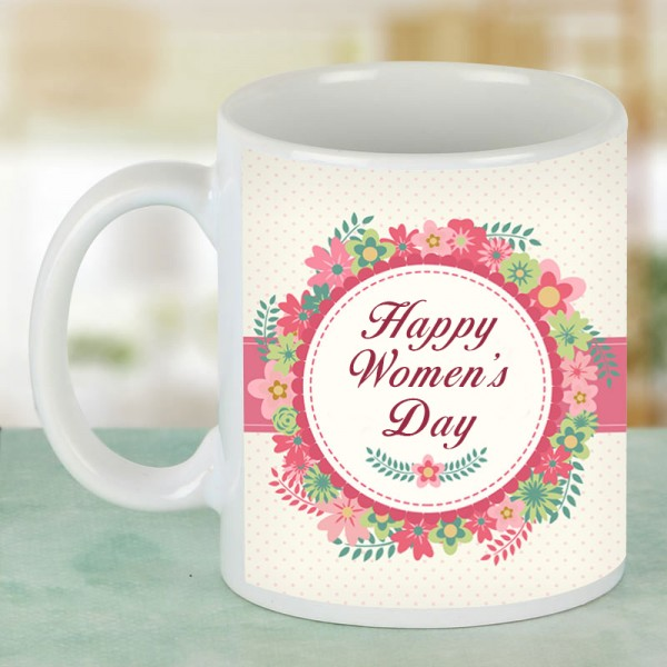 Womens Day Personalised Mug for Wife