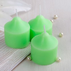 Green Apple Pillar Candle