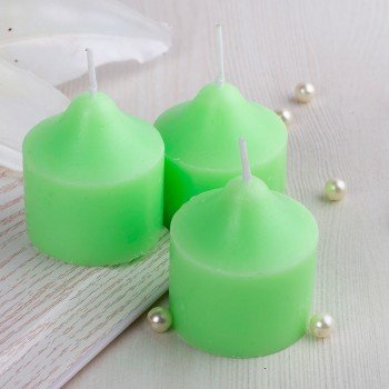 Green Color Scented Candle