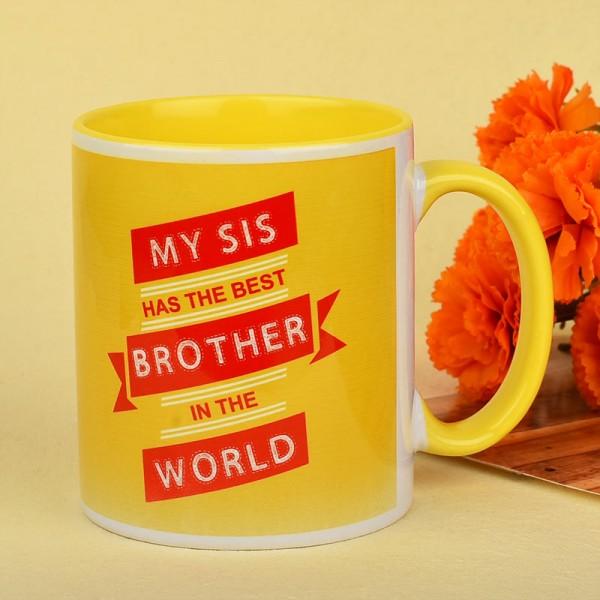 Rakhi Mug for Brother