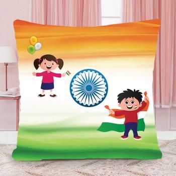 I Love India Cushion