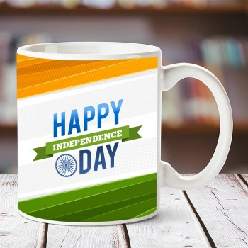 Happy Independence Day Printed Mug