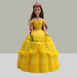 Sunshine Barbie Doll Cake