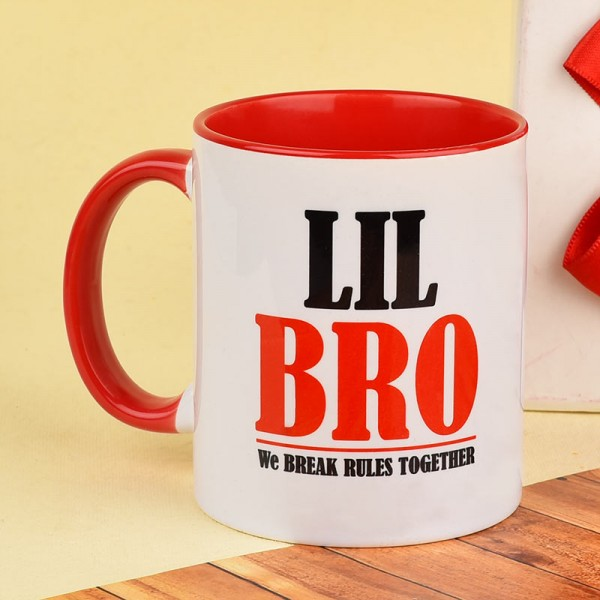 Printed Coffee Mug for Brother on Rakhi